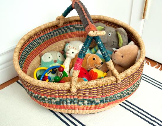 Ghana Bolga Toy Basket The New Domestic