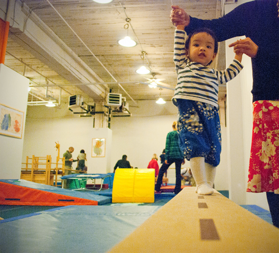 Peter Hoang & Nerissa Goco : Little Gymnast