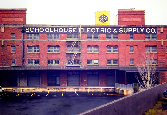 Peter Hoang & Nerissa Goco : Portland : Schoolhouse Electric & Supply