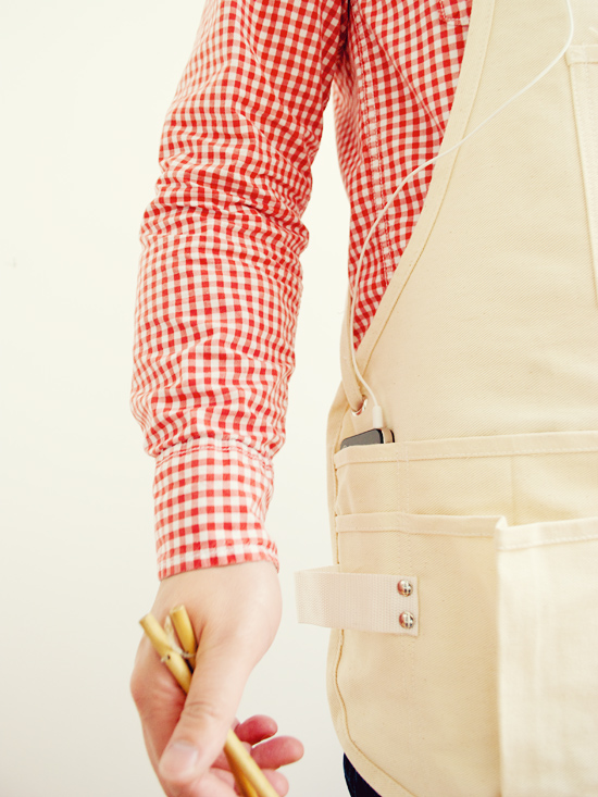 Peter Hoang & Nerissa Goco : New To The Shop : Utlity Apron!