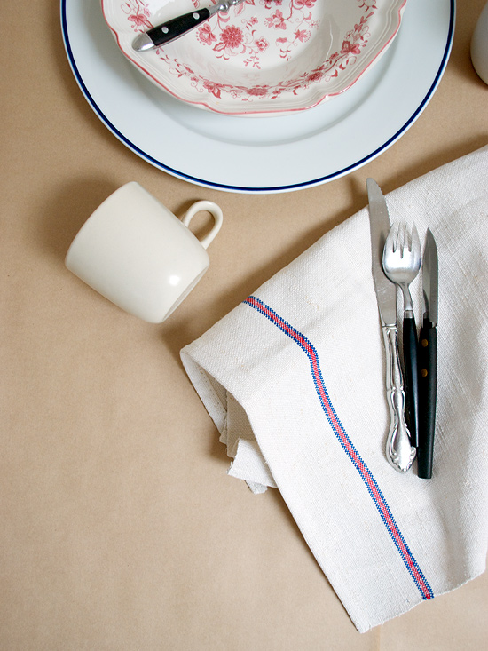 Peter Hoang & Nerissa Goco : Handmade Vintage Kitchen Linen   Now In The Shop!