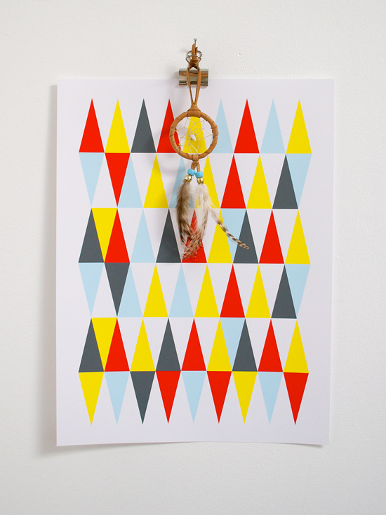 Peter Hoang & Nerissa Goco : New To The Shop : Trees, Bees & Teepees Posters