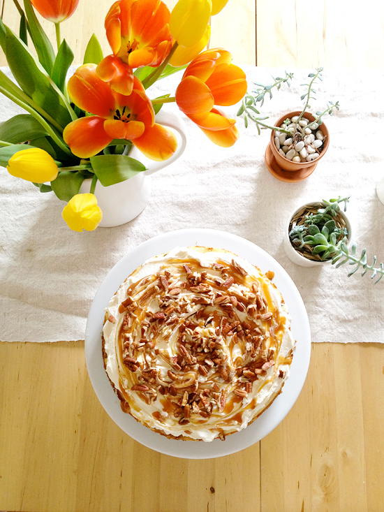 Peter Hoang & Nerissa Goco : Salted Caramel Apple Cheesecake Pie