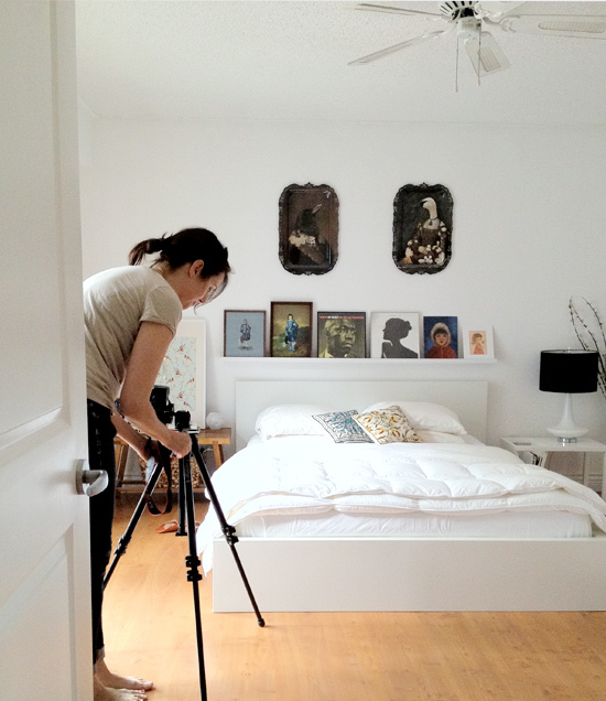 Peter Hoang & Nerissa Goco : Style At Home Magazine Behind the Scenes