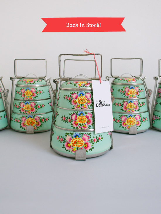 Peter Hoang & Nerissa Goco : Back in Stock : Handpainted Tiffin Carriers