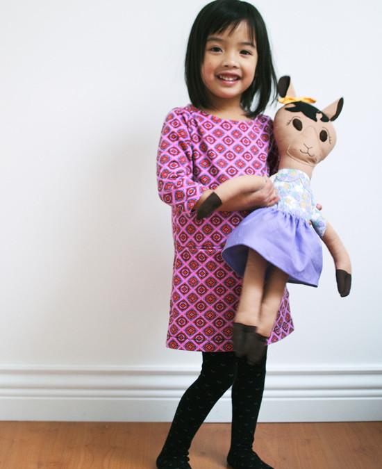 Dolly Llama Rag Doll