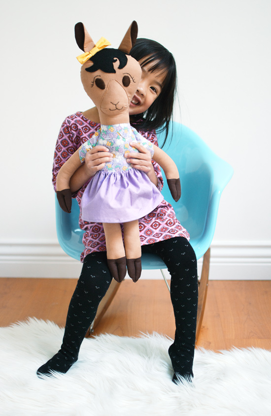 Peter Hoang & Nerissa Goco : Dolly Llama Rag Doll
